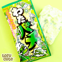 Buy Meiji Wata Pachi Melon Soda Popping Candy Floss at Tofu Cute