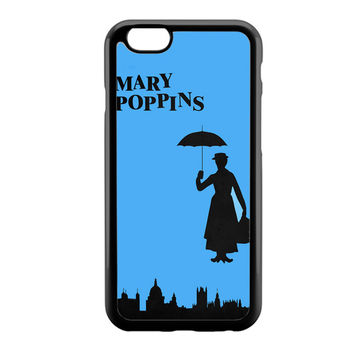 Mary Poppins Black iPhone 6 Case