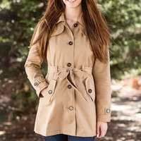 Talk Of The Town Trench Coat