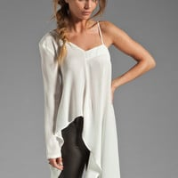 Talulah De La Rosa Top in White from REVOLVEclothing.com