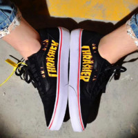 VANS & Thrasher Women Men Canvas shoe