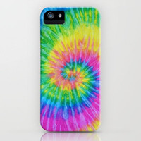 Tie Dye Whirl iPhone Case by Sheena Mohammadi | Society6