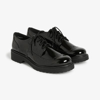 Monki | Shoes | Shiny oxfords