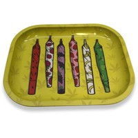 Designed Metal Rolling Tray (Mini) - Jays
