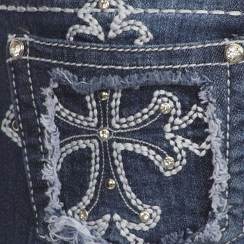 Denim Couture - Jeans Cross with rugged pocket - Womens - Young Adults