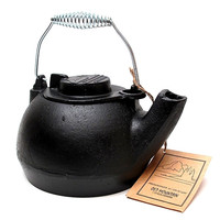Old Mountain Cast Iron Preseasoned 2 quart Tea Kettle