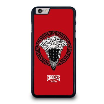 CROOK AND CASTLES BANDANA RED iPhone 6 / 6S Plus Case
