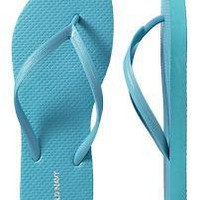 Women's Clothes: Classic Flip-Flops: 2 for $5   Old Navy