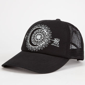 O'neill Born Wild Womens Trucker Hat Black One Size For Women 25969910001