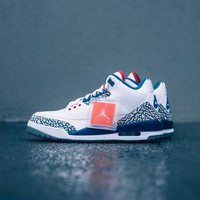 qiyi Air Jordan 3 Retro - True Blue