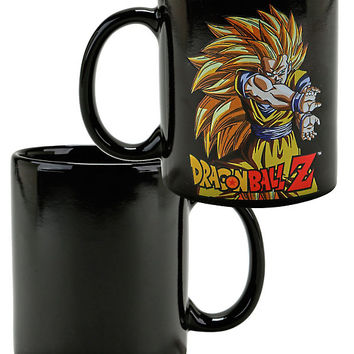 Dragon Ball Z Super Saiyan Goku Heat Reveal Mug