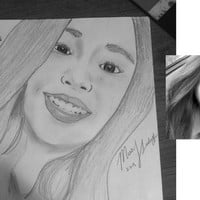 Custom Portrait Drawing - Custom Portrait from Photo