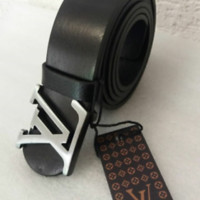 New Men  Leather Belt  strap 110 cm