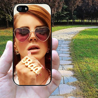 iphone 5s case,iphone 5 case,iphone 5c case,iphone 5s cases,iphone 5 cases,iphone 5c case,iphone 5s cover--lana del rey,in plastic,silicone.
