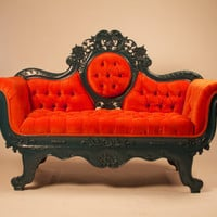 Tangerine dream loveseat