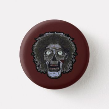 ZOMBIE Face - Color Face Button