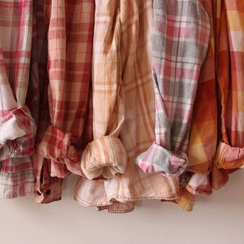 Hand-Dyed Spring Flannels