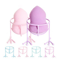 1 Pc Power Puff Stand Holder Make Up Sponge Organizer Shelf Chicken Feet Shape Makeup Cosmetic Tool