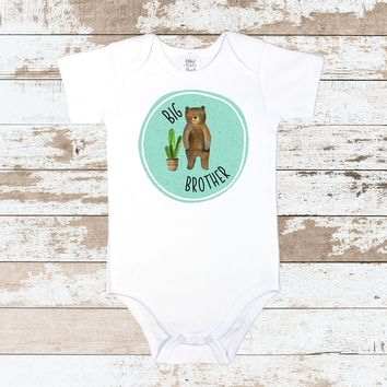 Big Brother Blue White Bodysuit