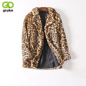 *ONLINE EXCLUSIVE* Faux Fur Leopard Coat
