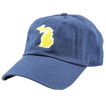 Michigan Ann Arbor Gameday Hat in Navy by State Traditions