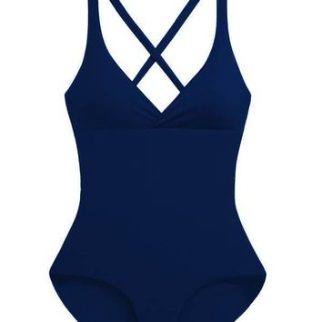 MAYLANA Collins Navy One Piece