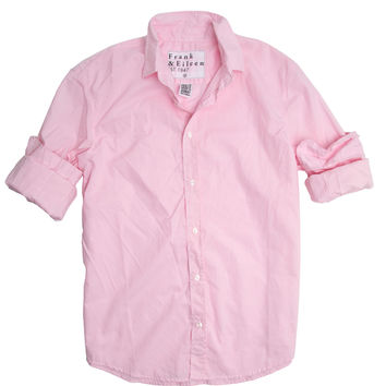 Frank & Eileen Paul Pink Plaid Poplin Shirt