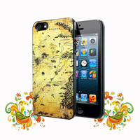 Middle Earth Cushion The Hobbit Lord Of The Rings iPhone 5, 5s, 5C, 4, 4S , Samsung Galaxy S3, S4, S5 , iPod Touch 4 / S Case