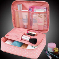large-capacity multi-function travel cosmetic waterproof Makeup Wash Tool Organizer Storage bags