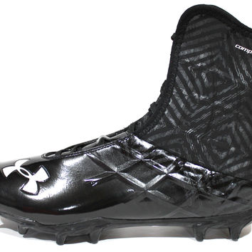 Under Armour Men's Team Highlight MC Wide Black Football Cleats 1235210-013
