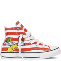 Converse - Chuck Taylor All Star Dr Seuss - Hi - White / Grenadine