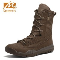 Men Military Tactical Boots Special Force Desert Ankle Combat Boots Safety Outdoor Shoes Plus New Ultralight Army Boot
