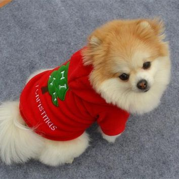 """ Merry Christmas"" Dog Sweater"