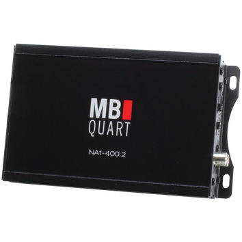 Mb Quart Nautic Series Compact Powersports Class D Amp (2 Channel 200 Watts X 2)