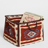 Magical Thinking Kilim Square Storage Bin