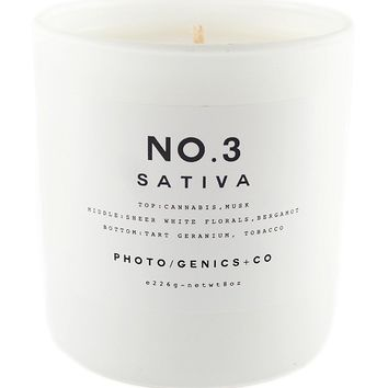 PG+CO NO.3 Sativa Candle