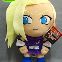 "Naruto: ""Plush - Ino 12in (30cm)"" : TokyoToys.com: UK Based e-store, Anime Toys Retail & Wholesale, Manga Action Figures,  Hentai Statues, Japanese Snacks, Pocky, DVDs, Gashapon,  Cosplay, Monkey Shirt, Final Fantasy, Bleach, Naruto, Death Note, Wall Scrol"