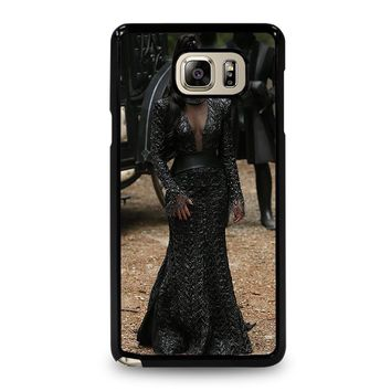 ONCE UPON A TIME EVIL QUEEN Samsung Galaxy Note 5 Case