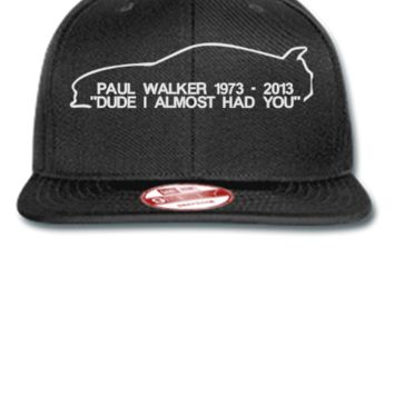 paul walker rip Bucket Hat - New Era Flat Bill Snapback Cap