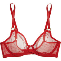 L'Agent by Agent Provocateur - Alyce stretch-mesh underwired bra