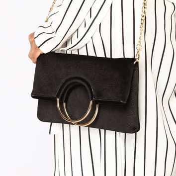 To The Touch Clutch - Black