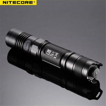 Nitecore P12 Neutral White 960lm 7 modes Waterproof Tactical XM-L2 led light lamp Flashlight 18650 CR123A torch+o-rings+holster