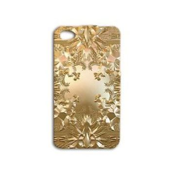Kanye West Jay-Z Gold Album Cover Case iPhone 4 4s 5 5s 5c 6 6s Plus Gold iPod