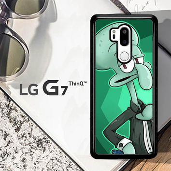 Squidward Tentacles Y0893 LG G7 ThinQ Case