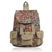 Ethnic Style Patten Prints Backpack