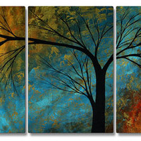 Megan Duncanson 'Beauty In Contrast' Contemporary Metal Wall Art, Modern Home Decor
