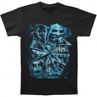 Slipknot Shattered Glass 2015 Tour T-shirt - Slipknot - S - Artists/Groups - Rockabilia