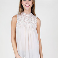 Altar'd State Chantilly Lace Top