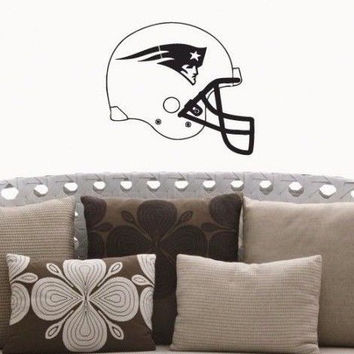 New England Patriots NFL Team Superbowl Wall Decal Gm0692 FRST