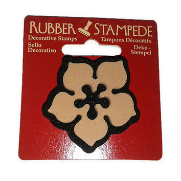 "Rubber Stampede Decorative Stamp Star Deco 1.5"" x 1.5"" Foam Rubber Stamp Craft Scrapbooking"